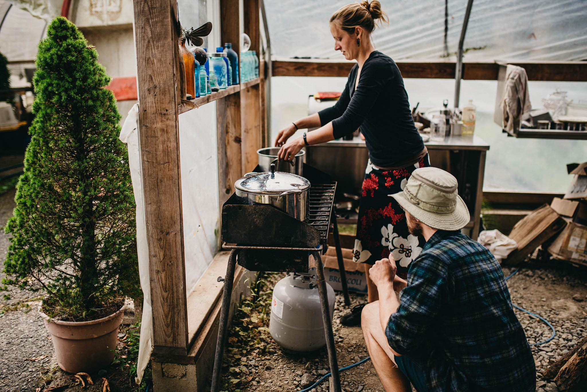 Cooking for wedding in western washington